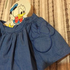 Adorable Minnie Mouse Pockets Skirt Disney 3T